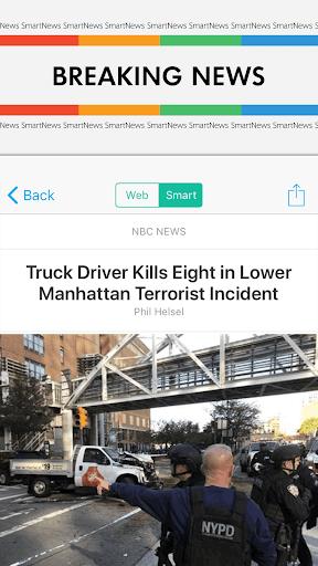 SmartNews: Breaking News Headlines screenshot 1