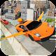 City Futuristic Flying Car