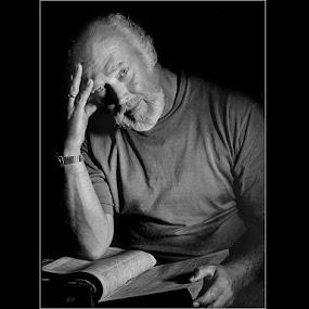 by Stephen Hooton - People Portraits of Men ( people )