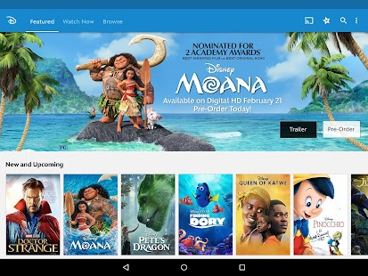 App Disney Movies Anywhere apk for kindle fire