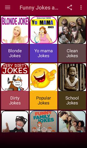 Funny Jokes & Stories 2018 Screenshot