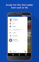 Screenshot of OneDrive – cloud storage