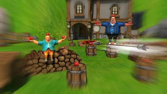 Apple schießen 3D Bogenschießen schießen android spiele download