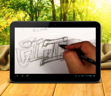 Download How to Draw Graffiti Letters APK on PC