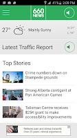 Screenshot of 660 News