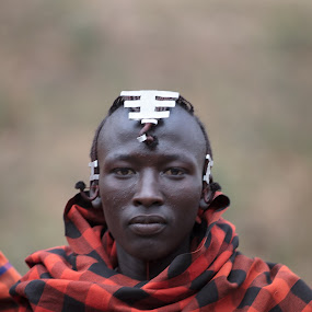Maasai Warrior by VAM Photography - People Portraits of Men ( warrior, tanzania, ngorongoro, maasai, culture, man )