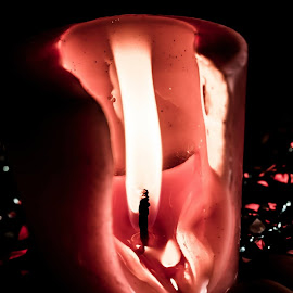 Melting red by Glenn Santos - Artistic Objects Other Objects (  )