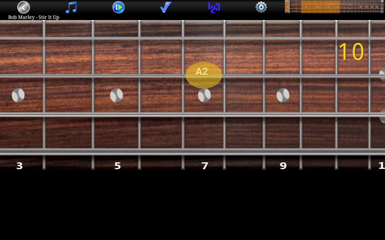 Bass Guitar Tutor Pro Screenshot 8