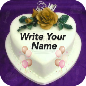 Birthday Cake Images With Name Ajay : Name On Birthday Cake - Android Apps on Google Play