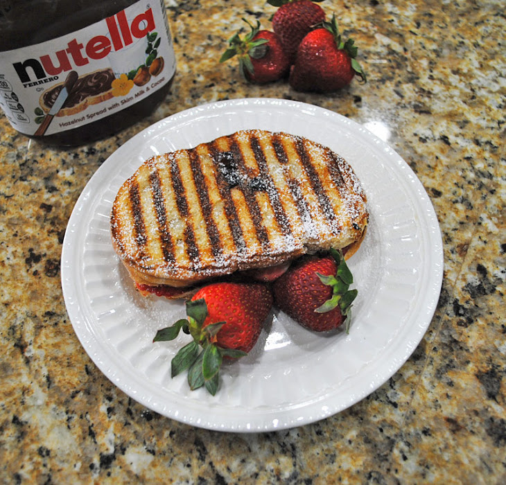 Strawberry Nutella Panini Recipe | Yummly