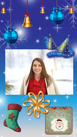 android Christmas Magic Greeting Cards Screenshot 0