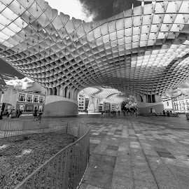 metropol Sevilla by Roberto Gonzalo - City,  Street & Park  Vistas ( metropol, sevilla )