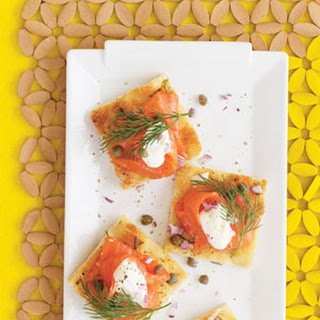 Smoked Salmon Appetizer Capers Red Onion Recipes