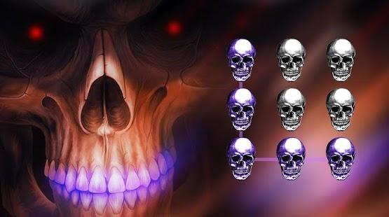 App Hell Skull CM Security Theme apk for kindle fire