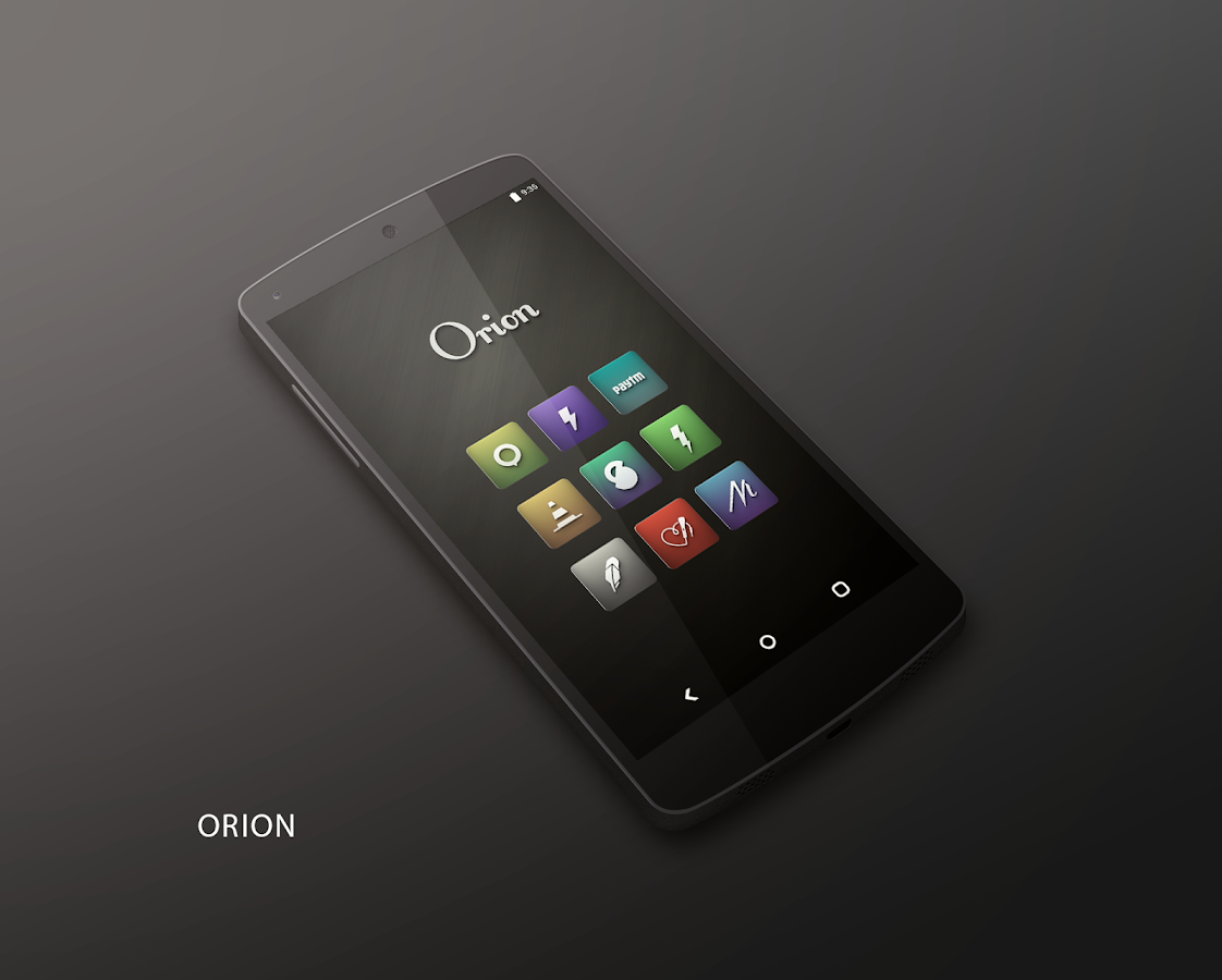 Orion UI Icon Pack Screenshot 6