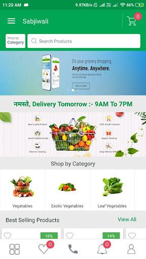 Sabjiwali - Online Sabji Shopping App screenshot 3