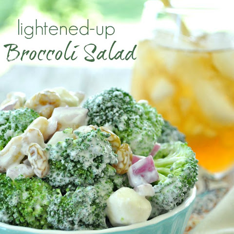 Lightened-Up Broccoli Salad