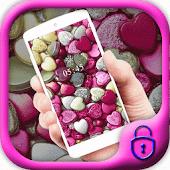 Free Download Love theme rainbow heart APK for Samsung