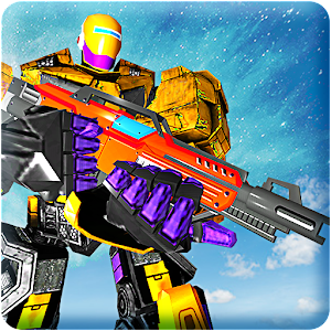 Gangster Super Transform Robot Flying Car Robo War For PC / Windows 7/8/10 / Mac – Free Download