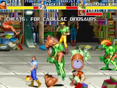 Cadillacs And Dinosaurs Cheats For Mame on