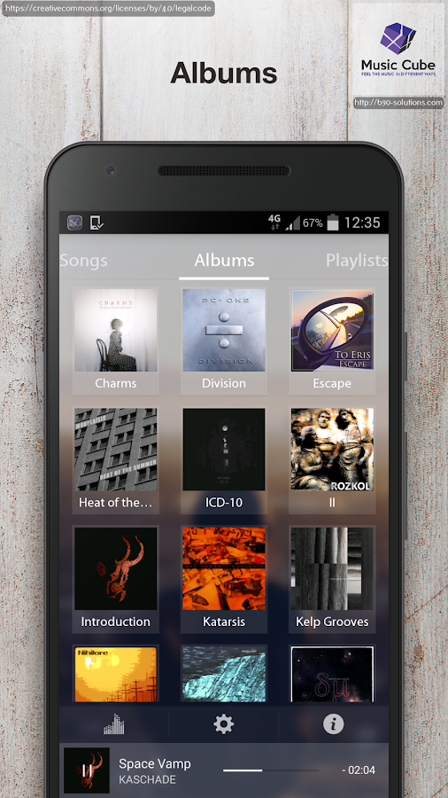 Music Cube - Pro Music Player Screenshot 2