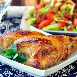 Honey Dijon Glazed Chicken Breasts