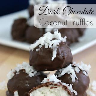 Dark Chocolate Coconut Truffles Recipes