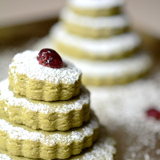 Christmas Matcha Green Tea Cookies [Recipe]