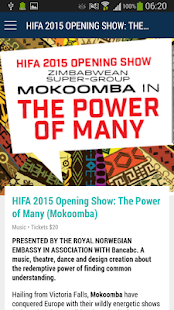 HIFA 2015 - screenshot