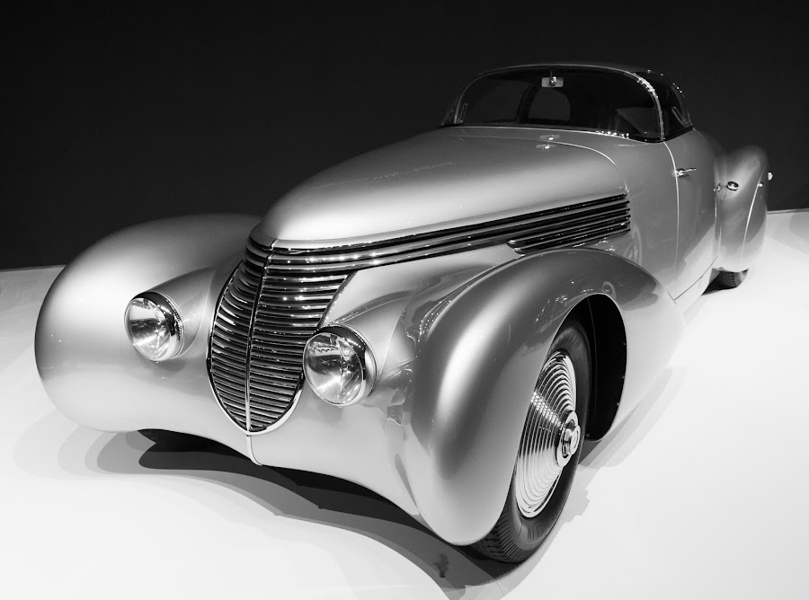 I'm in love with my Car by Bob Stafford - Black & White Objects & Still Life
