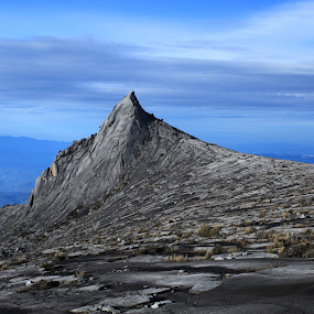 South Peak at Mount Kinabalu by Redzal Amzah - Landscapes Mountains & Hills