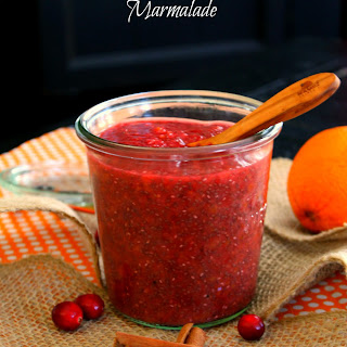 Cranberry Orange Chia Seed Marmalade