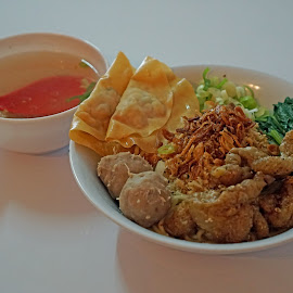 by J W - Food & Drink Plated Food