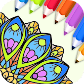 Game Mandala Coloring Pages- Anti-Stress Henna Mehndi APK for Kindle