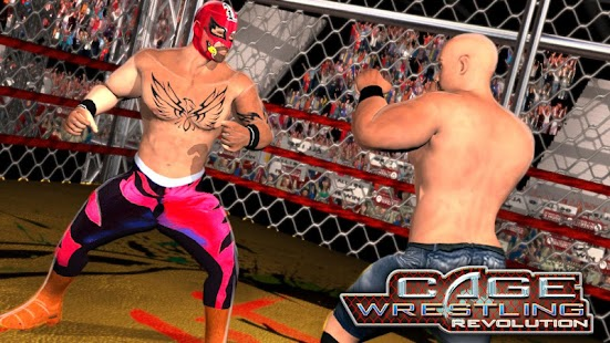 WRESTLING CAGE REVOLUTION : WRESTLING GAMES 2K18 for pc