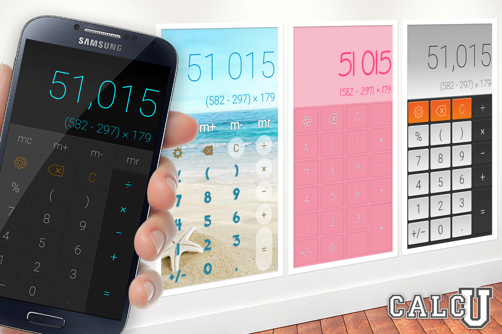 CALCU™ Stylish Calculator Free Screenshot 0