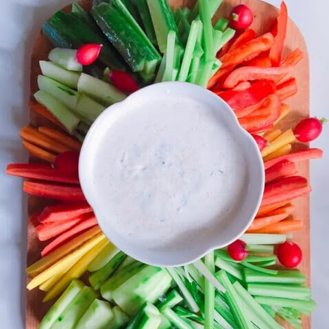 Cool and Creamy Homemade Ranch Dressing