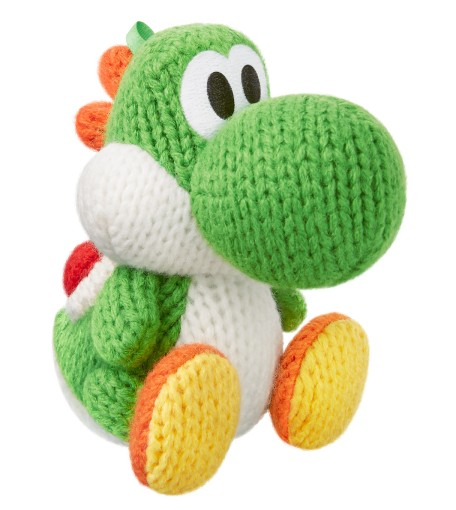 Green Yarn Yoshi - Yoshi's Woolly World series