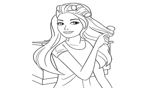 colouring pages - screenshot