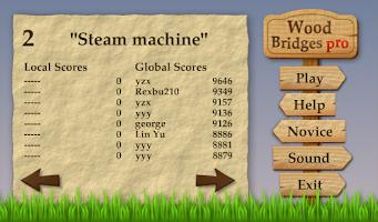 Screenshot of Wood Bridges Pro