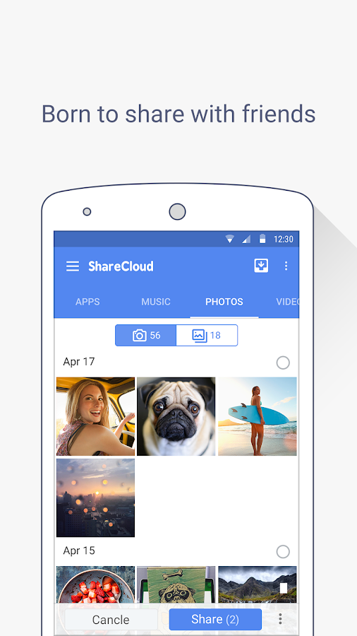ShareCloud - Share By 1-Click Screenshot 3