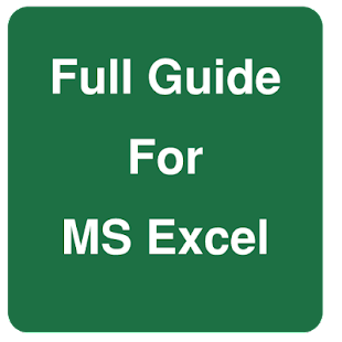 Full Guide for MS Excel - screenshot