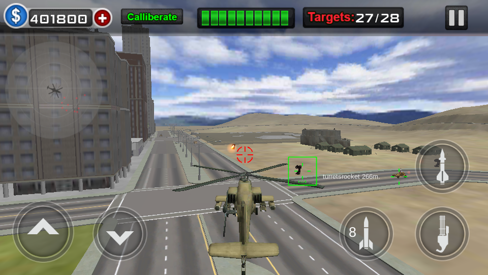 Gunship Air Battle Screenshot 7