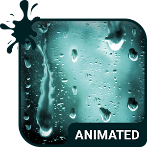 Rainy Day Animated Keyboard