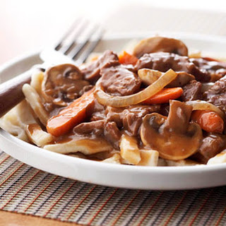 Simple Beef and Noodles