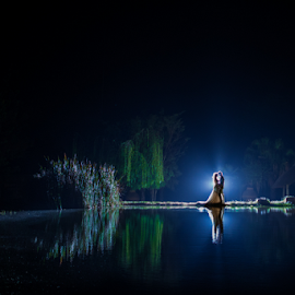 Lake by Lood Goosen (LWG Photo) - Wedding Bride & Groom ( wedding photography, wedding photographers, wedding day, weddings, wedding, lakes, lake, wedding photographer, bride and groom, bride, groom, people, bride groom )