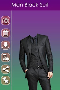 Man Black Photo Suit - screenshot