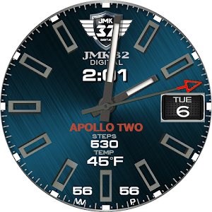 APOLLO TWO Luxury Glow Watchface for WatchMaker For PC