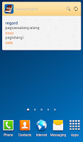 Screenshot of Tagalog<>English Dictionary