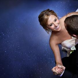 Sky Floor in Fox Theatre by Sarah Slavik - Wedding Reception